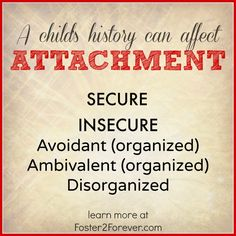 Attachment can be defined in a number of ways, but can be simply defined as the connection that is developed between a child and caregiver. There are 4 patterns ofattachment that a childcan develop while being parented, but first… How is attachment developed? Attachment is developed through repeated and consistent interactions betweena child and caregiver. …