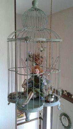 Whimsical fairy birdcage