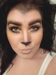 DSCN0787 werewolf makeup