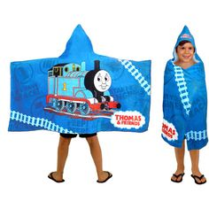 Purchase the Thomas and Friends Hooded Towel for less at Walmart.com. Save money. Live better.