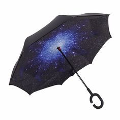 Starry Sky Double Layer Hands-Free Reversible Umbrella, 26% discount @ PatPat Mom Baby Shopping App