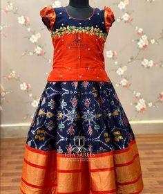 New Dress Pattern Baby Pictures Ideas Kids Lehanga Design, Kids Frocks Design, Baby Frocks Designs, Frocks For Girls, Dresses Kids Girl, Kids Outfits, Kids Dress Wear, Kids Gown, Kids Wear