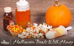 Halloween Treats With Honey