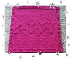 Aquarius Zodiac Symbols, Aquarius, Knitting Patterns, How To Make, Goldfish Bowl, Aquarium, Knit Patterns, Knitting Stitch Patterns, Loom Knitting Patterns
