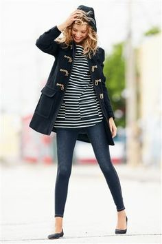 Buy Navy Hooded Duffle Coat from the Next UK online shop:duffle coat