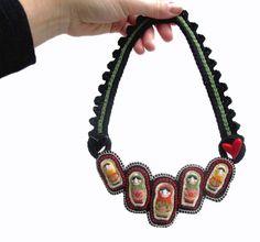 Matrioshka Necklace