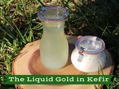 The Liquid Gold in Kefir! Why and how to use Kefir Whey!  ~Cultured Food Life