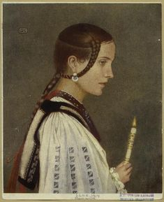 A Rumanian Invalid by Marianne Stokes Romanian Women, Pre Raphaelite Brotherhood, John Everett Millais, Beautiful Castles, Old Paintings, New York Public Library, Picture Collection, Still Image, Vintage Art