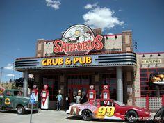 Sanford's Grub & Pub a great place to eat in Casper Wyoming!  2012-06-04 Sanford's Grub & Pub - Benjamin Culbreth - Picasa Web Albums Grand Teton National Park, Yellowstone National Park, Great Places, Places To Go, Casper Wyoming, Wyoming Vacation, Roadside Signs, Vacation Spots, Montana
