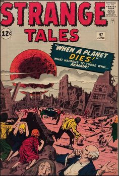 Marvel Comics' Strange Tales. And the End of the World nightmare cold war capitalization KEEPS ON COMING!