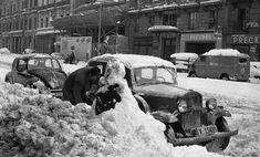 Fotos de la mayor nevada del siglo XX en Barcelona, 1962 (60 cm - 90 cm en cota 0) - ForoCoches