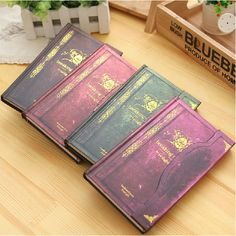 1 Pc/Lot Fashion 192-Page Vampire-Style Magnet-Buckled Notebook & Diary for School Stationery & Office Supply
