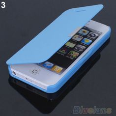 Magnetic Flip Leather Hard Skin Pouch Wallet Case Cover For Apple iPhone 5S 5G phone cases 01R4