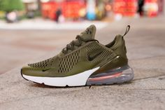 4411c59b09d9 Nike Air Max 270 AH8050-201 Green Sneaker for Sale-03 Following is White