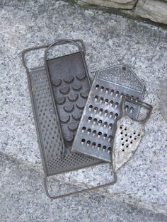 old graters - LOL, I still use mine.  It's like the one on the bottom. ;o)