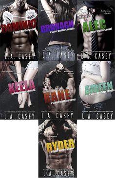 Românticos e Eróticos  Book: L.A. Casey - Slater Brothers #1 a #3.5