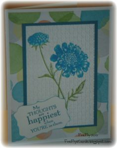 Watercolor Field Flowers by FireFly61 - Cards and Paper Crafts at Splitcoaststampers