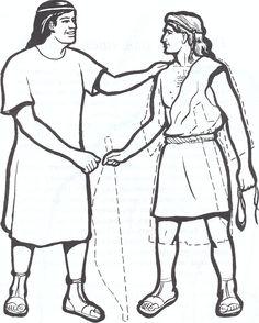 Давид и Ионафан (1)