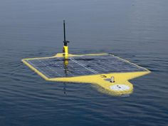 This autonmous underwater vehicle (AUV) runs on solar power. The amount of power available and the weight of the power source are major factors for AUV designers and users. Image courtesy of AUVfest Partnership Runs Deep, Navy/NOAA, OceanExplorer.