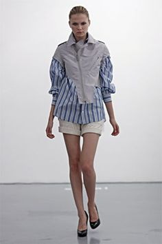 Sacai Spring 2010 Ready-to-Wear Collection Slideshow on Style.com