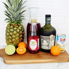 Mix up this delicious tropical libation to punch up the holidays.
