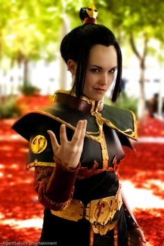 Azula from Avatar: The Last Airbender.