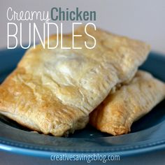Creamy Chicken Bundles via @creativesavings