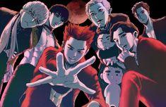 Baekhyun Fanart, Kpop Fanart, Kyungsoo, Chanyeol, Exo Kokobop, Kpop Exo, Exo Anime, Anime Art, Shinee