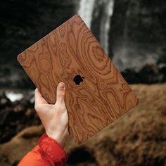 Macbook Skin, Macbook Decal, Macbook Air 13 Cover, Wood Veneer, Wood Wood, Wood Patterns, Sticker Shop, Real Wood, Woody