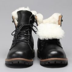 6bc2eed1b51 Natural Wool Men Winter Boots Size 35~48 Warmest Genuine Leather Russian  Style Men Snow Boots  YM1570. Русская МодаМужской ...
