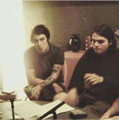 MCR frank and gee