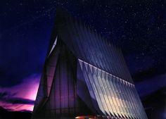 The USAFA chapel <3