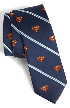 DC Comics Superman Stripe Tie available at #Nordstrom