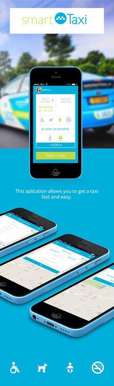 Smart Taxi on App Design Served