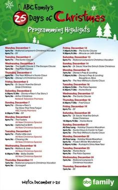 """Don't Miss Pretty Little Liars, The Fosters, Chasing Amy, Switched at Birth and Lots of Holiday Specials and Classic Movies on ABC Family's """"25 Days of Christmas"""" #25DaysofChristmas #Schedule #TV Programs http://www.redcarpetreporttv.com/2014/11/28/dont-miss-pretty-little-liars-the-fosters-chasing-amy-switched-at-birth-and-lots-of-holiday-specials-and-classic-movies-on-abc-familys-25-days-of-christmas-25daysofchristmas/"""