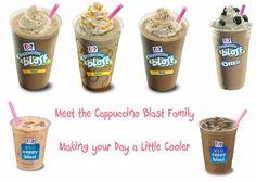 Dunkin Donuts Copycat Recipes: Cappuccino Blasts