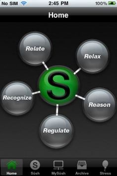 Great app that uses the 5 R's-- Relate, Relax, Reason, Regulate, and Recognize -- to meet social goals.  (specialneeds.com)