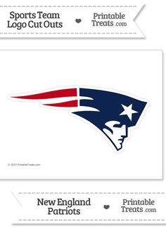 Printable New England Patriots Logo Stencil from ...