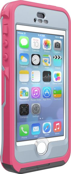 OtterBox Original Case 77-36355 for Apple iPhone 5/5S/SE (Preserver Series), Retail Packaging - Primrose (Pink/Gray)