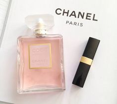 a classic Chanel Lipstick, Chanel Perfume, Cosmetics & Perfume, Chanel Paris, L'oréal Paris, Mademoiselle Coco Chanel, Body Spray, Smell Good, Girly Things