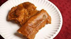 Delicious pasteles, also know as puertorrican tamales; but they don't taste anything like tamales :)