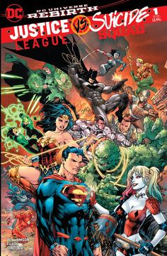 Super Special Cover Ligue Justice vs Suicide Squad , lineart EdBenes and colors me! Only found in the coolest comic store on this planet: http://rodman-comics-2.myshopify.com/    our  https://www.facebook.com/rodmancomics/?fref=ts
