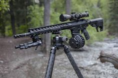 From @badassmedia The @Daily_Badass AR10 on @ReallyRightStuff SOAR Carbon Fiber Tripod. Perfection. - @LeupoldOptics Mark 4 LR Scope @Falkor.Defense Receivers BCG & Bipod @Proof_Research Carbon .308 Barrel @FortisMFG Rail Brake & Charging Handle @Geissele DMR Trigger @TeamMfer Grip & Stock @xproducts X25S Drum Magazine @RailScales Rail Scales - #weaponsdaily #sickguns #merica Find our speedloader now! www.raeind.com or http://www.amazon.com/shops/raeind