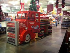 Shop in shop Coca-Cola Christmas Truck on Behance