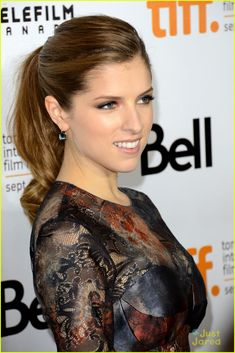 Anna Kendrick: 'The Company You Keep' Premiere at TIFF