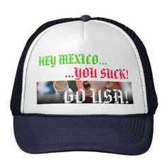 mexico soccer funny pics | Mexico vs. US Soccer Rivalry Hat - Customised | Zazzle.co.uk