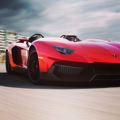 Groovy Lamborghini Aventador J concept, blooming perfecto