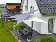 8 Fabulous Tips and Tricks: Roofing Top Rooftop Bar roofing top rooftop bar.Stained Glass Roofing concrete shed roofing.Easy Shed Roofing. Patio Sails, Patio Roof, Pergola Patio, Pergola Plans, Backyard Patio, Pergola Kits, Pergola Ideas, Roof Ideas, Backyard Shade