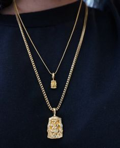 I need a Jesus piece and a monogram necklace @comptonstylegal