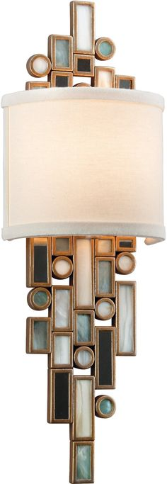 dolcetti transitional sconce, 18.5h 6w 3.5projection 404dollars by corbett lighting via arcadian lighting website